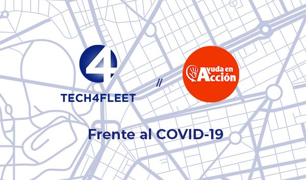 Tech4Fleet y Ayuda en Acción frente al COVID19