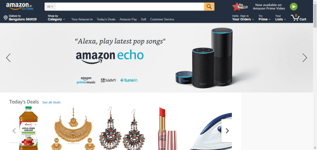 33fe8b4d Top 10 Online Shopping Sites in India 2019 - Tech4Fresher