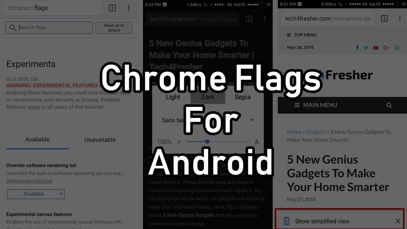 10 Best Chrome Flags For Android You Must Know