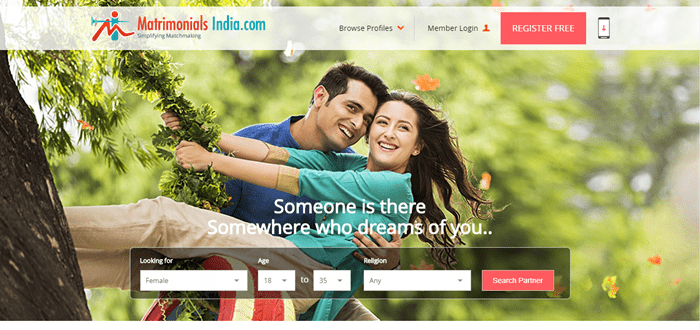best matchmaking website in india