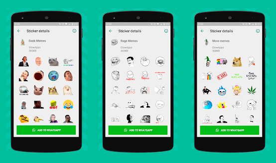 meme stickers for android