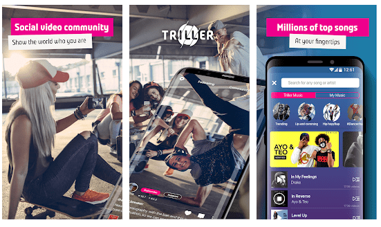 triller: apps like tiktok
