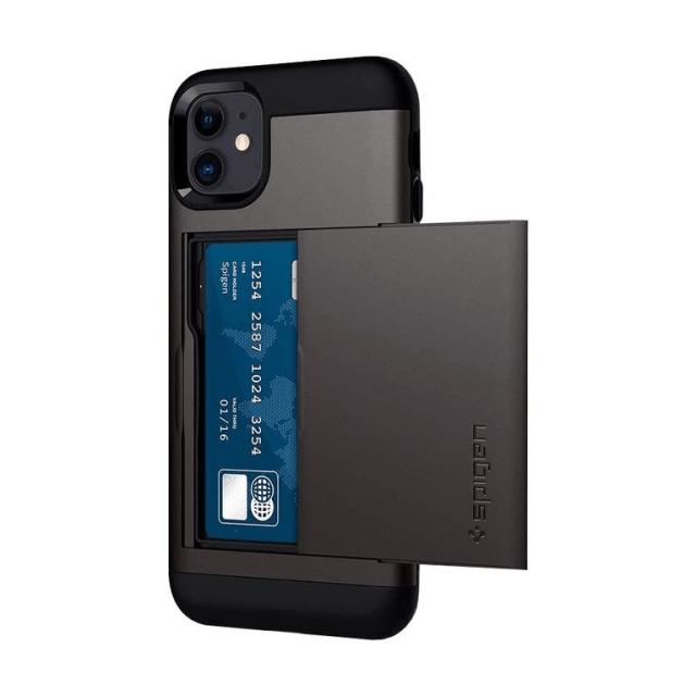 Spigen Slim Armor CS Wallet Case For iPhone 11