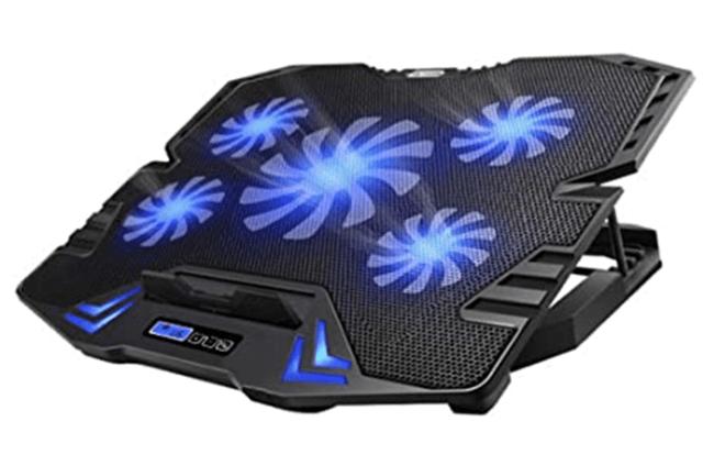 TopMate C5 10-15.6-inch Gaming Laptop Cooler Cooling Pad