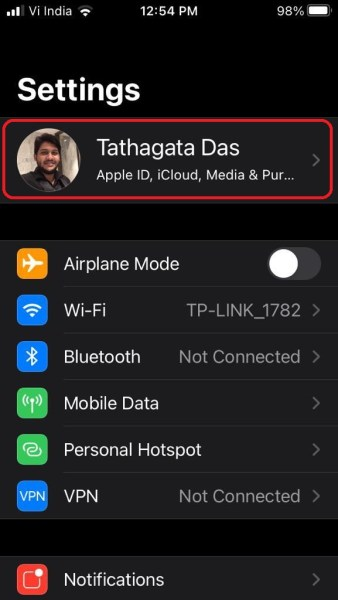 Backup Your Data to iCloud