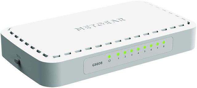 Netgear GS608 8-Ports