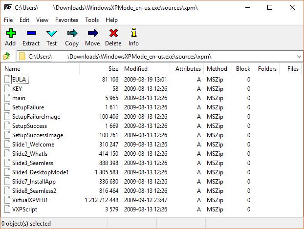 windows xp on virtual box