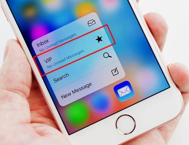vip inbox apple mail