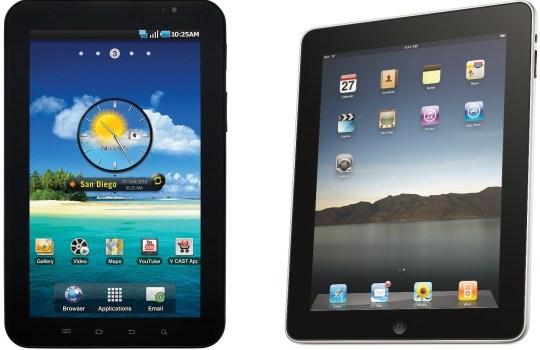 Samsung Galaxy Tab 10.1 equals iPad 2 in performance