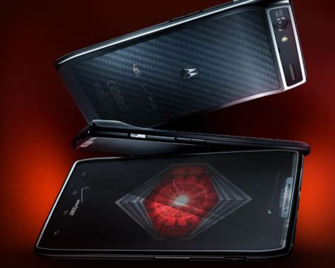 In the list of top 5 android phones, Razr gets a unique place!