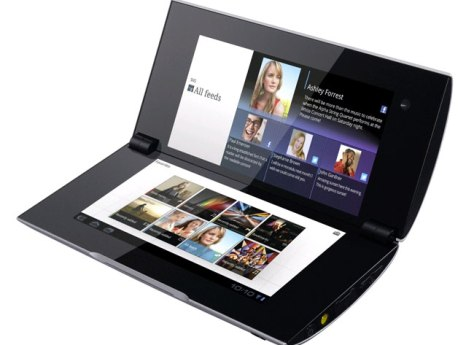 sony tablet P features cool dual touch screens