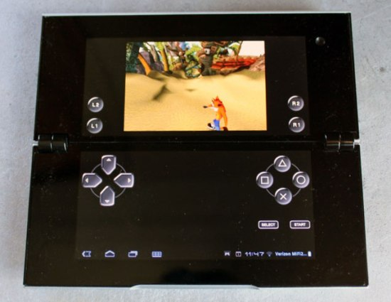 sony tablet P is very comfortable to carry
