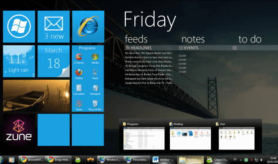 Metro UI of Windows 8 is amazing