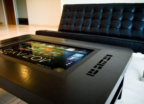 connect to your friends just with the digital coffee tables