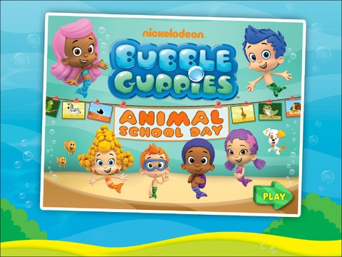bubble guppies game comes in top 10 iPad apps
