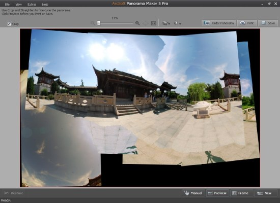 Arcsoft Panorama maker software