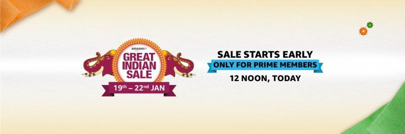 Amazon Great Indian sale begins today for Prime users