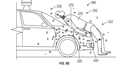 Glue To Stick Pedestrian google patent