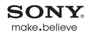 Sony make.believe logo - black