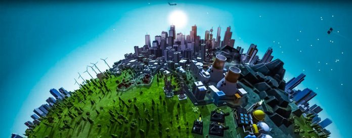 the-universim_god-sim-game-screenshot-city-view-plane-nuclear-power-plant