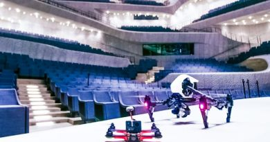 Elbphilharmonie Hamburg Drone Flight Inauguration Classic Stage Music Interior Audience Seats