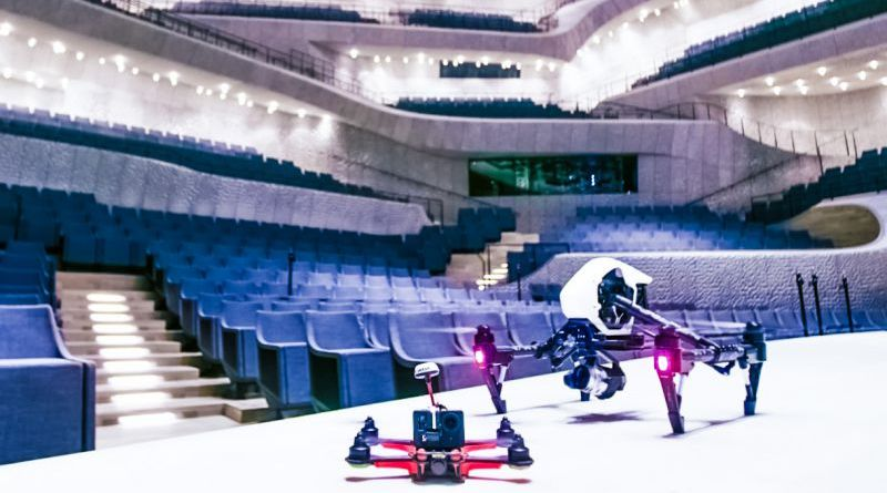 Elbphilharmonie Hamburg Drone Flight Inauguration Classic Stage Music Interior Audience Seats