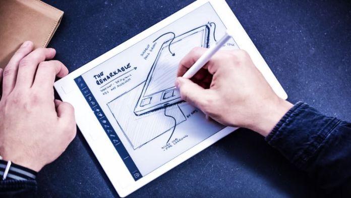 Remarkable Paper Tablet Drawing Pen Sketch Image