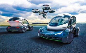 PopUp Vehicle Concept Italdesign Airbus Flying Selfdricing Car Pod Hybrid Modular Transportation Adaptive