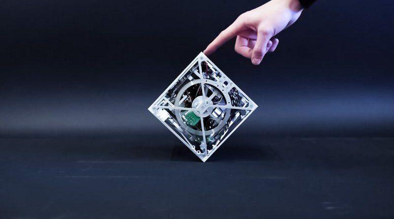 Cubli Walking Jumping Balancing Robot Cube Engineering STEM Design Robotics Finger Pointing Prototype