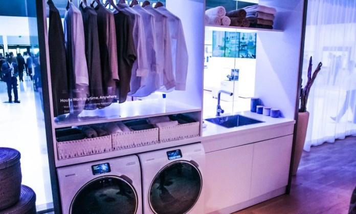 samsung smart home automation options companies hub connecting devices fair photos laundry