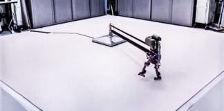 Leo-Robot-Learns-To-Walk-Four-Hours-Machine-Learning-Online-Hand-Coded-Controlls-Falling-Over