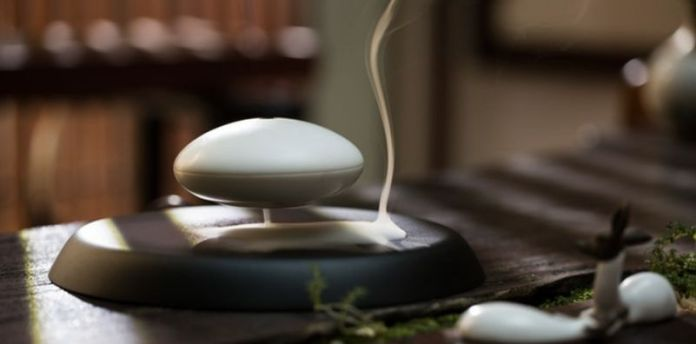 YUN Aroma Flying Spaceship Saucer New Product Zen Meditation_edited
