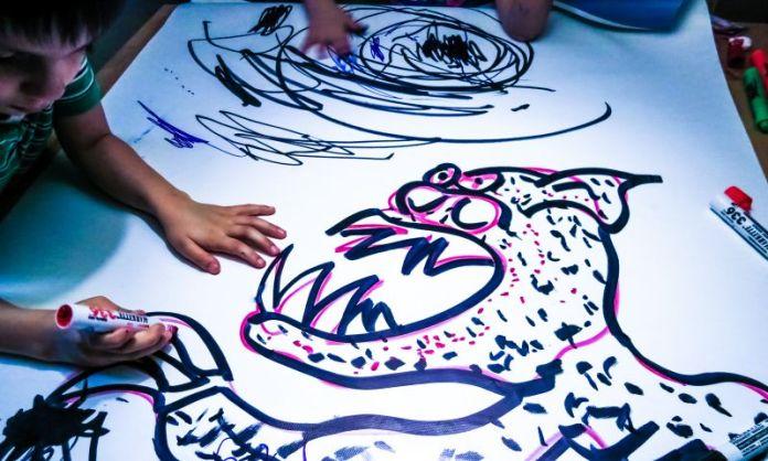 Children Drawing Monster Sketching French Illustrator in Japan Thomas Romain Project Anime Animator
