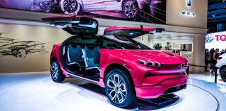 WEY SUV Red Front IAA Motor Show Frankfurt 2017 Car EV Electric Vehicle Toshiba SCiB Battery New News Range Charging Time Competition