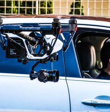Jaguar Drone Race Inside Car Moving Driving Direction Experiment Practice Test Video Action Labs Video