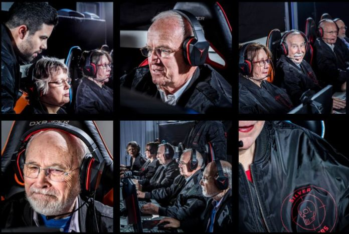 Lenovo Silver Snipers CSGO Seniors Team Dreamhack eSports Elderly Competition CS Gaming Tournament Sweden