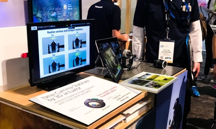 Panasonic Sands CES 2018 Camera Stabilizer 3D Actuator Touch ID Smart Home IoT News