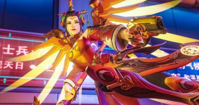 Lunar New Year 2018 Dog Special Event Skins Overwatch GOTY Game of the year edition Mercy Outfit Chinese Game Charts February