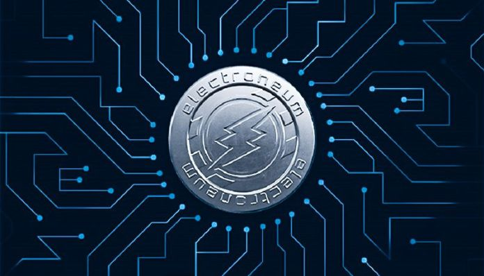 Electroneum Cryptocurrency Currency Crypto Bitcoin Blockchain Android App Miner Free Mobile New Money
