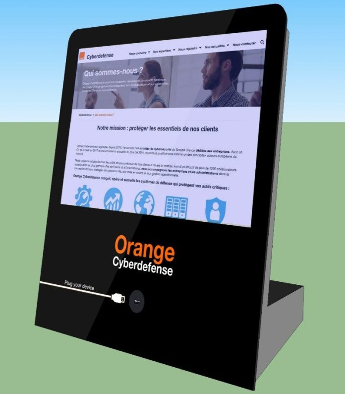 Orange Cyberdefense Malware Cleaner mini terminal