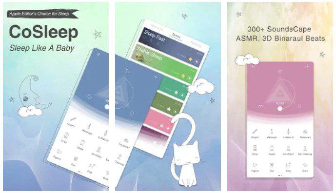Co Sleep App Screenshots