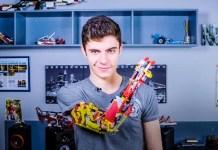 David Aguilar Andorra prosthetic lego arm video