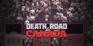 Title Cover Zombie Survival Rogue Like Like Retro Game Style Death Road To Canada Review