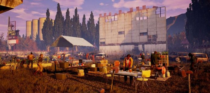state of decay enclave crew home base gardening outside