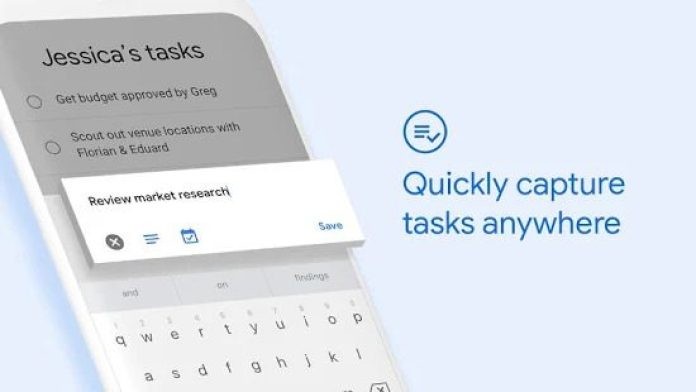 Google To Do Tasks App Review Screenshot Overview UI Design UX Integration