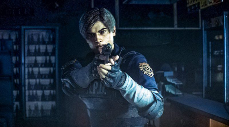 Leon Kennedy RE2 Remake Capcom Zombie Games E3 New Graphics Consoles Resident Evil 2019 1998