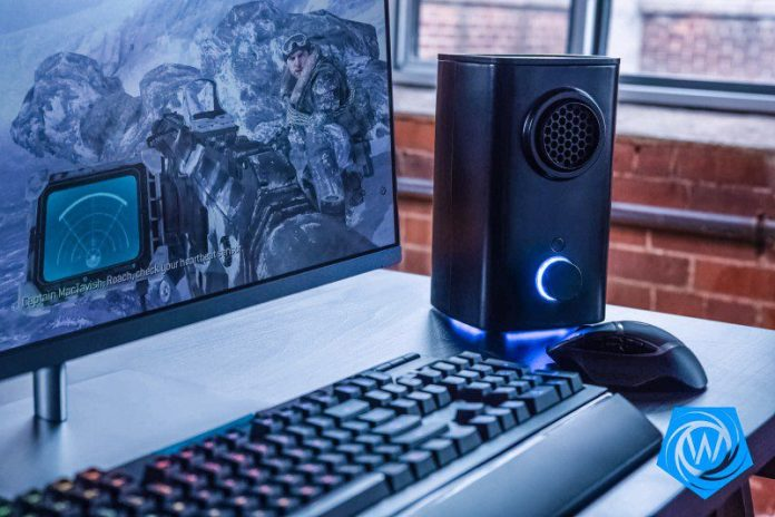 Whirlwind FX Brings You Vortx Worlds First 4D Environmental Simulator Gaming Speakers Wind Heat Cold