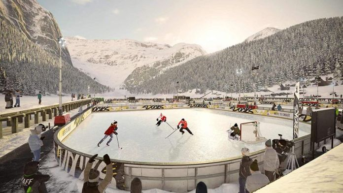 NHL 19 EA Sports Game Screenshot Example Outside