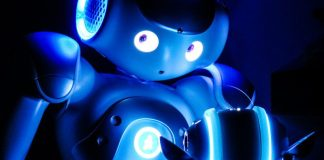 Nao Blue Robot Service Provider Future Products Robotics Solutions Drones Robots
