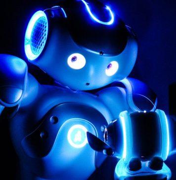 Nao Blue Robot Service Provider Future Products Robotics Solutions Drones Robots